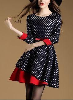 modelos vestido retro 5