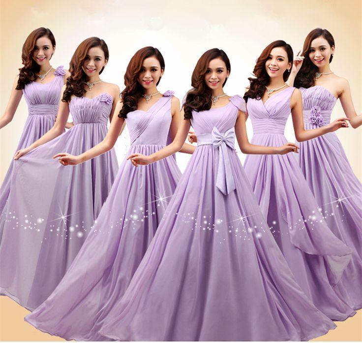 modelos vestidos casamento lilas