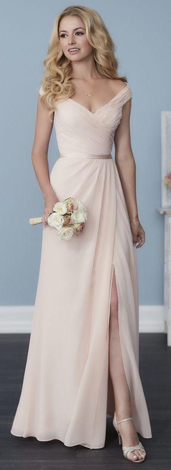 modelos vestidos dama rosa