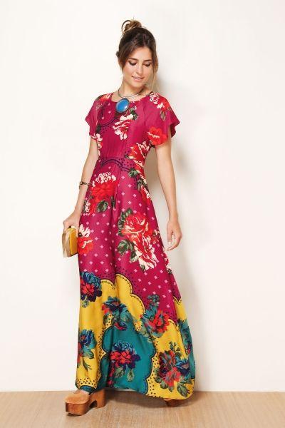modelos vestidos estampas 7