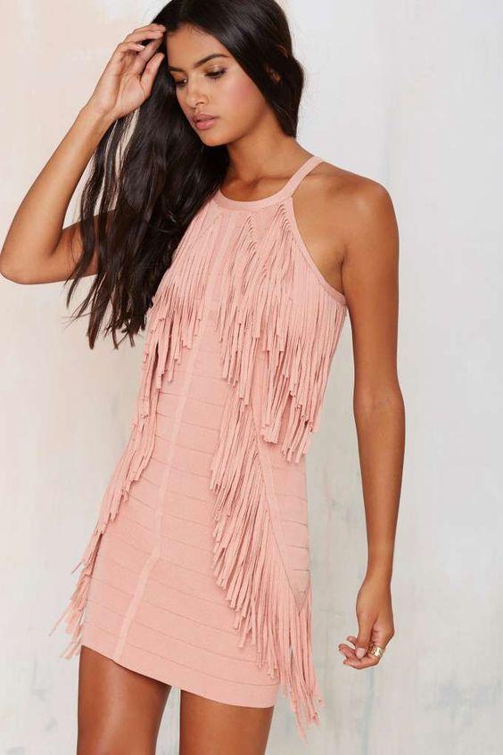 modelos vestidos franjas 5