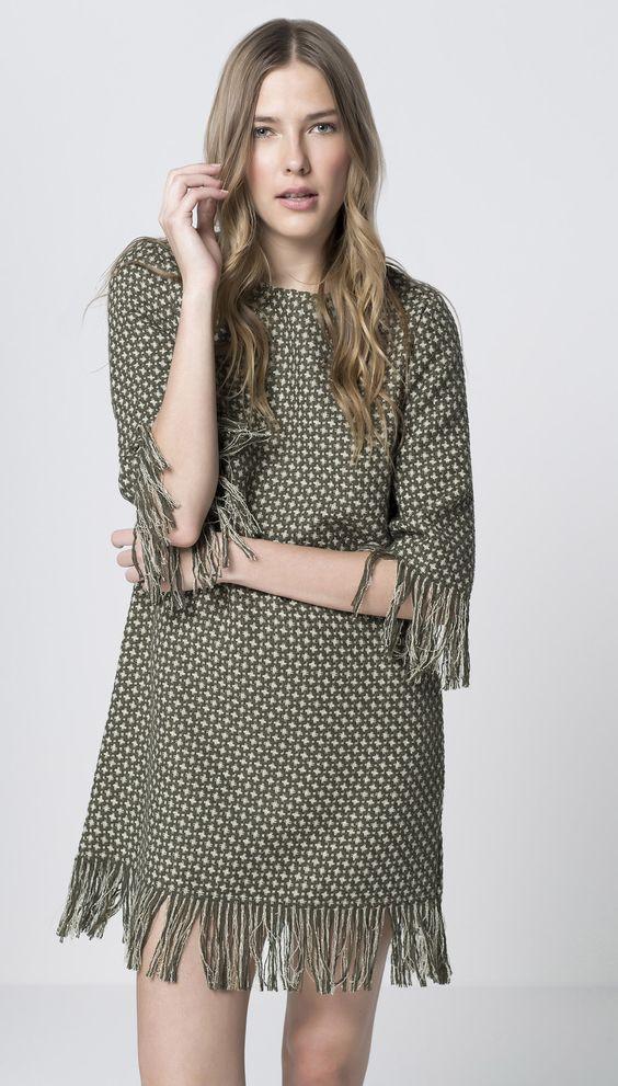 modelos vestidos franjas 6