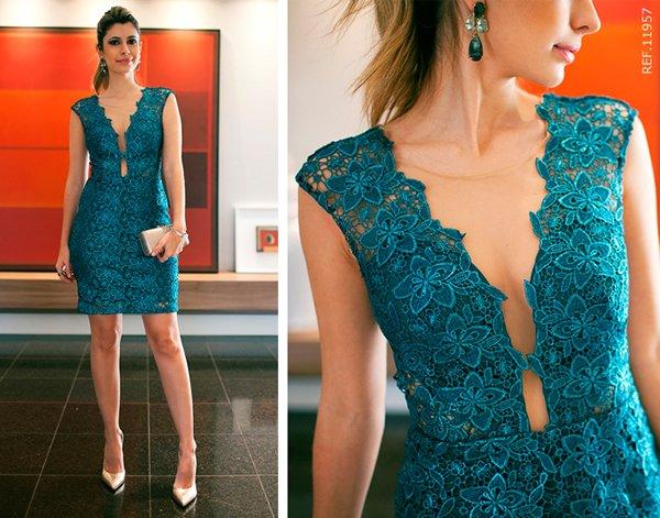 modelos vestidos guipir curto