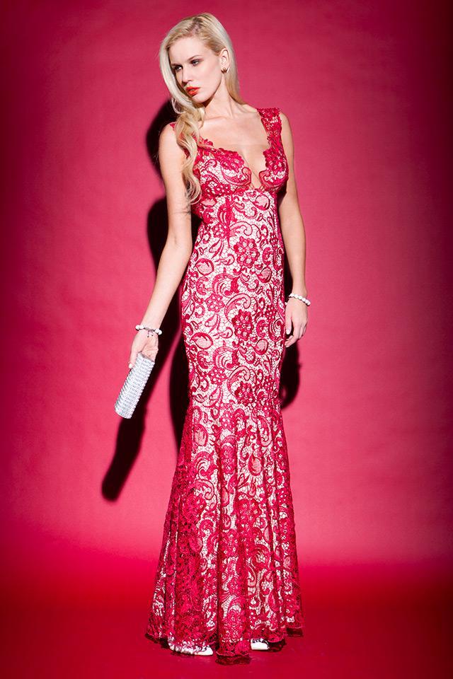 modelos vestidos guipir festa