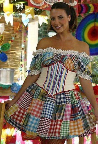 modelos vestidos quadrilha
