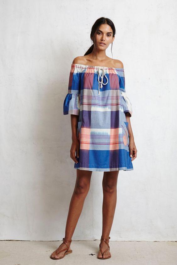 modelos vestidos xadrez 2
