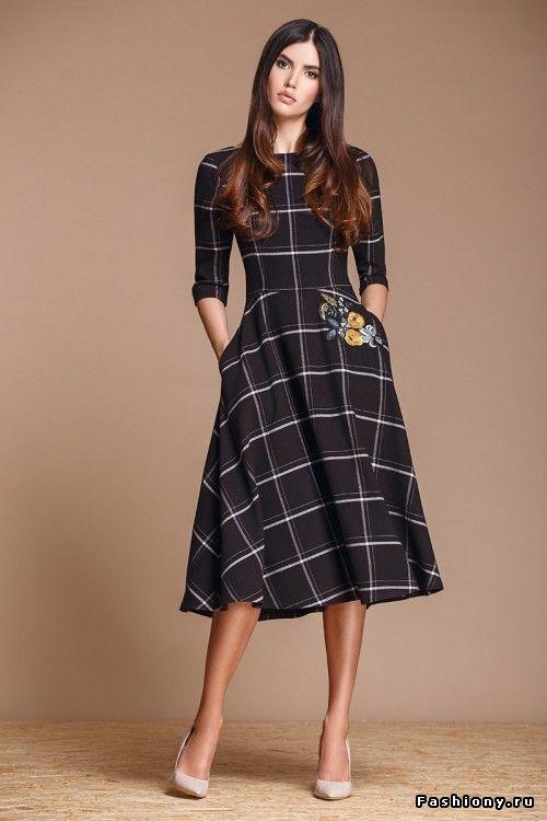 modelos vestidos xadrez 5