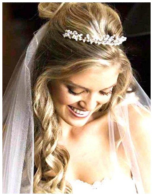 noiva com tiara