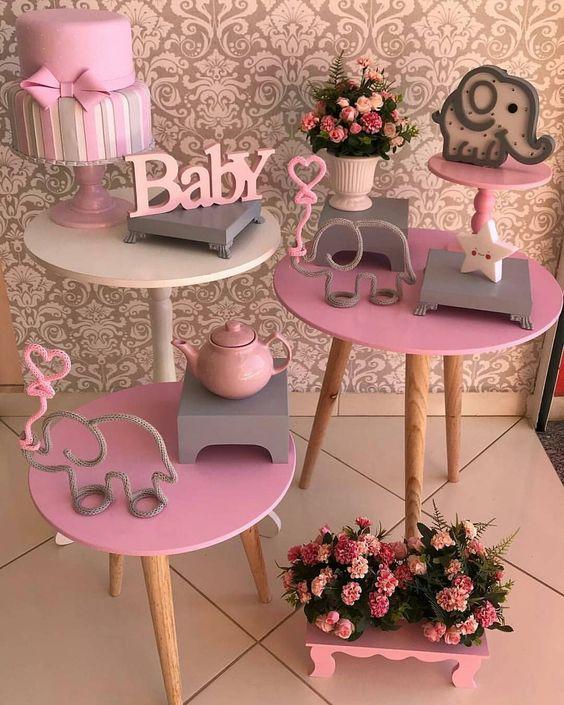 organizar cha bebe decoracao
