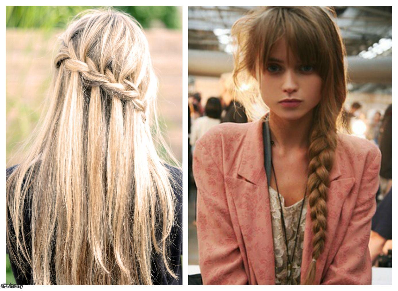 penteado com trancas para 2016