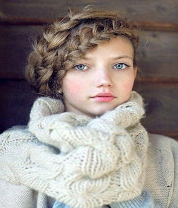 penteado de inverno