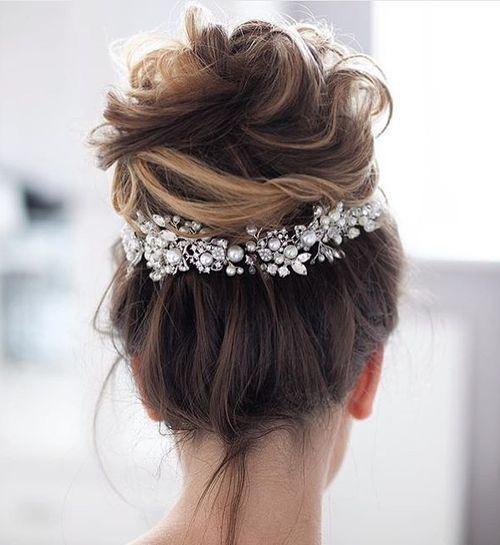 penteado noiva coque