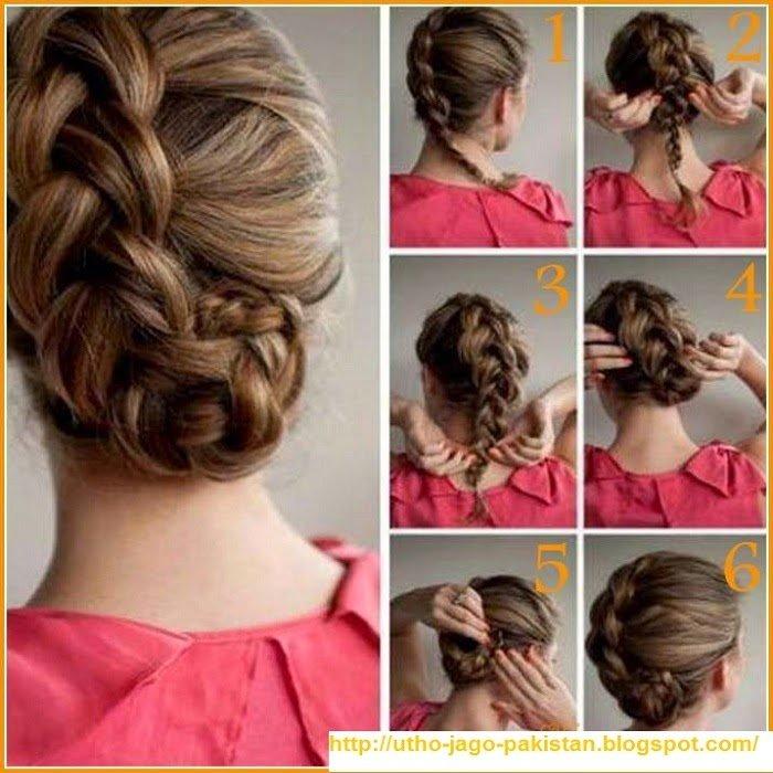 penteado simples foto