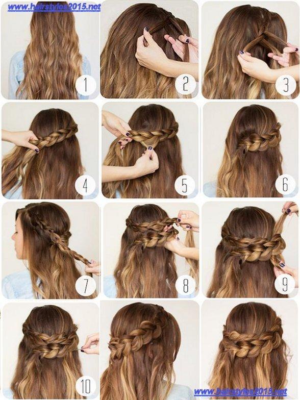 penteado simples modelo