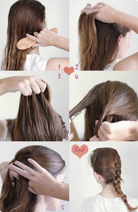 penteado simples rabo de cavalo