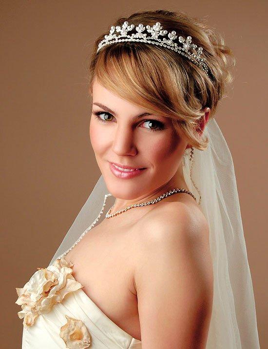 penteado tiara casamento