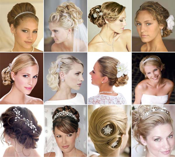 penteados de casamento noivas