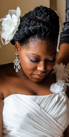 penteados noiva afro 8