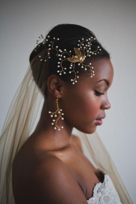 penteados noiva afro 9