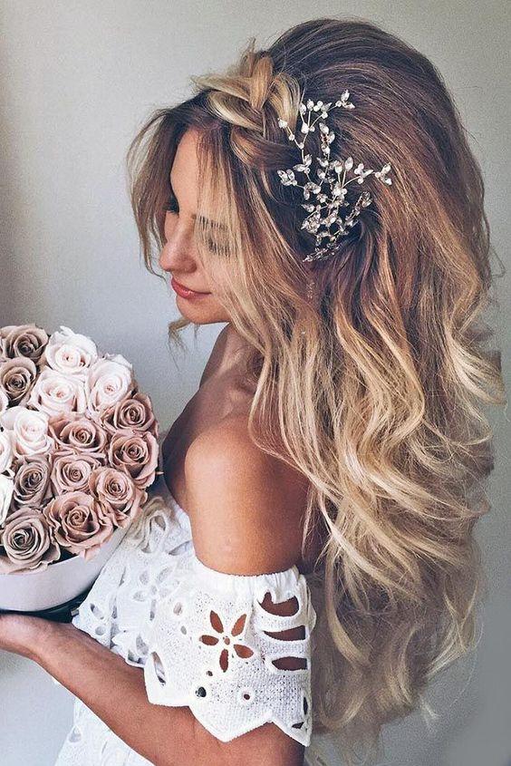 penteados noiva cabelos longos 2