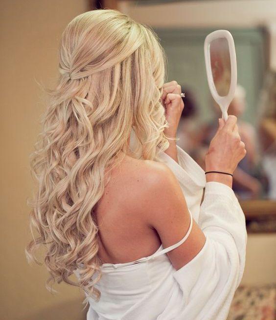 penteados noiva cabelos longos