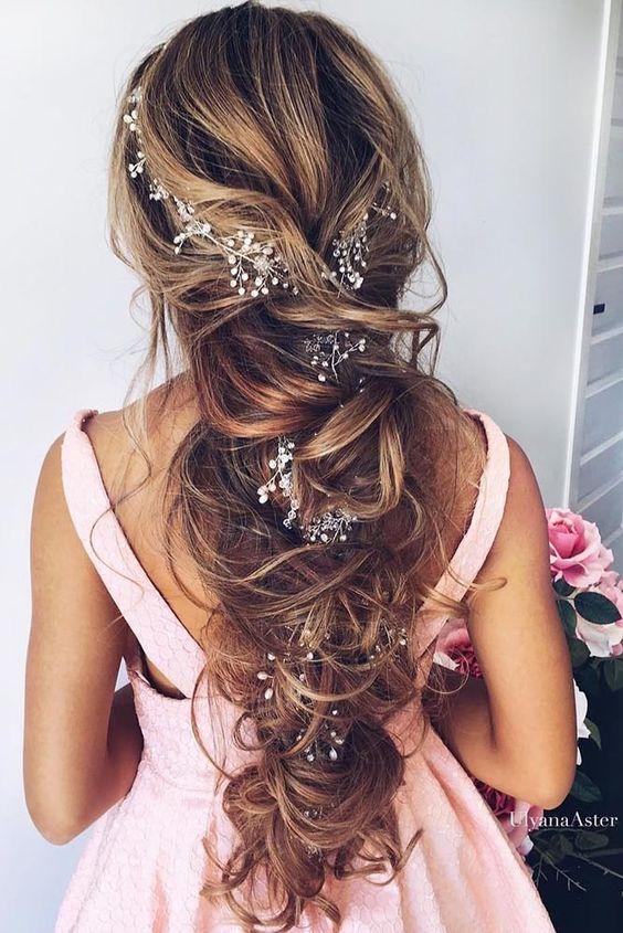 penteados noiva longo