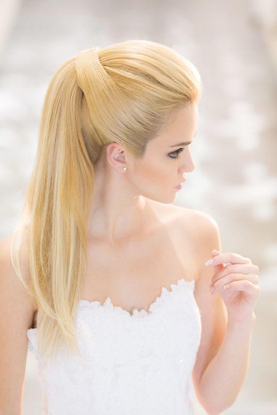 penteados noiva penteados lisos 2