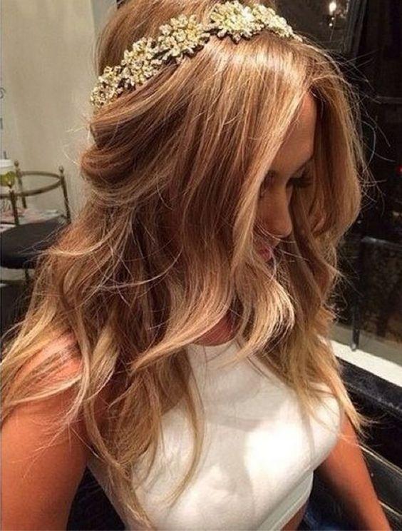 penteados noiva penteados lisos