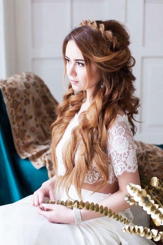 penteados noiva soltos 2