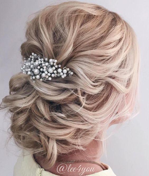 penteados noiva soltos