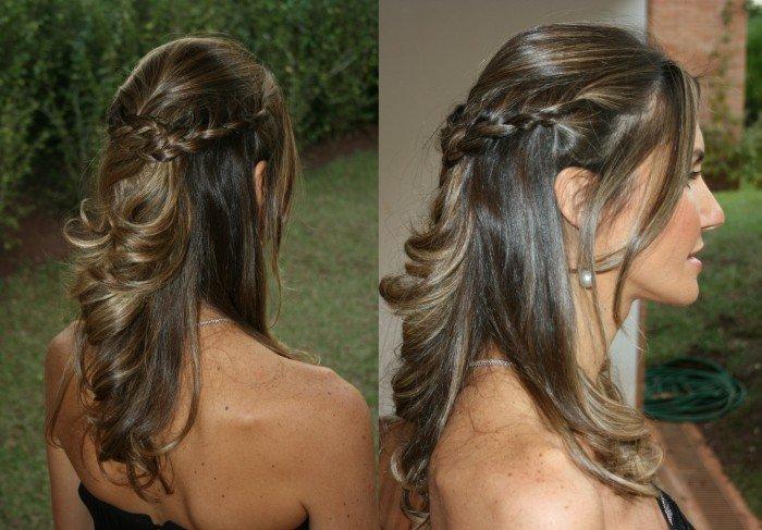 penteados para formatura foto