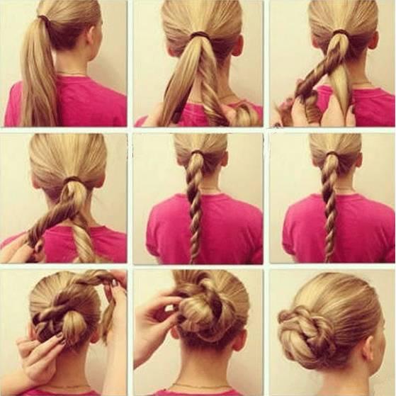 penteados simples como fazer
