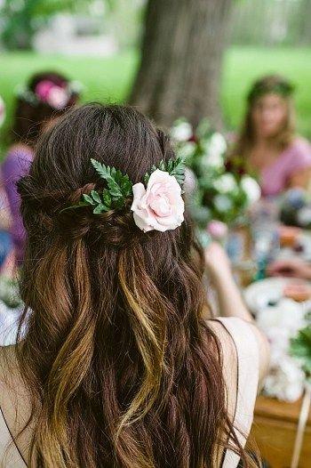 peteados noiva flores 1