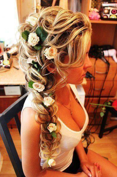 peteados noiva flores 6