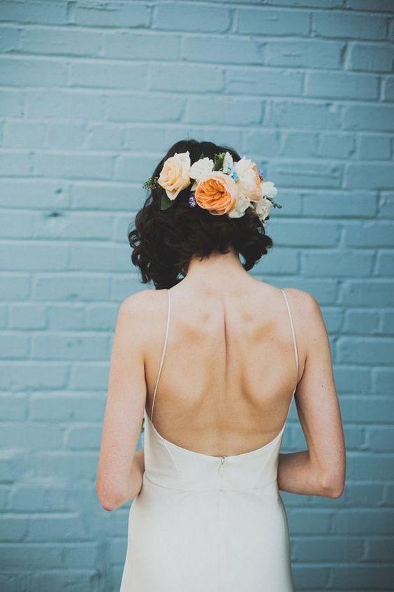 peteados noiva flores 7