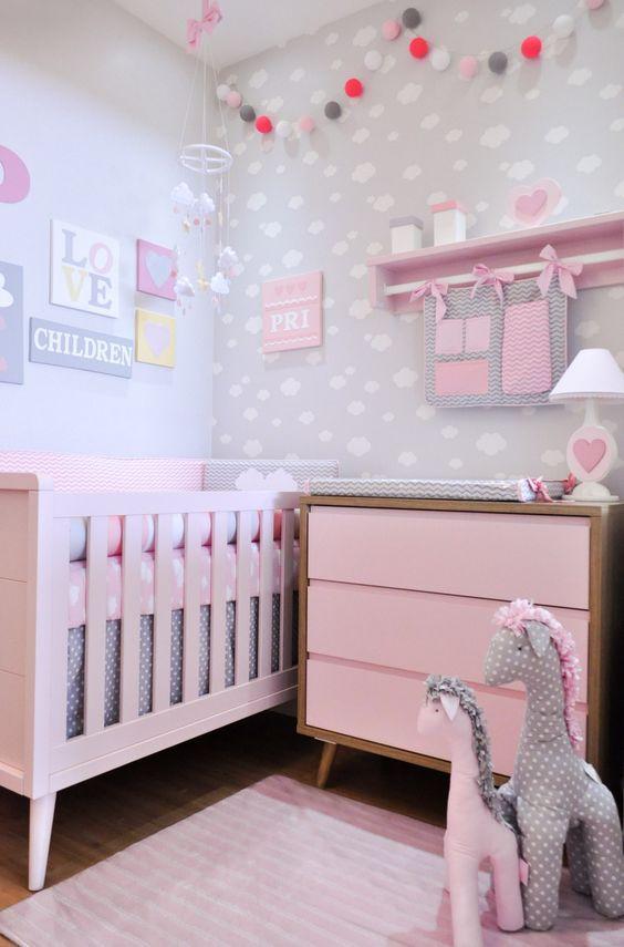 quartos bebe decorados