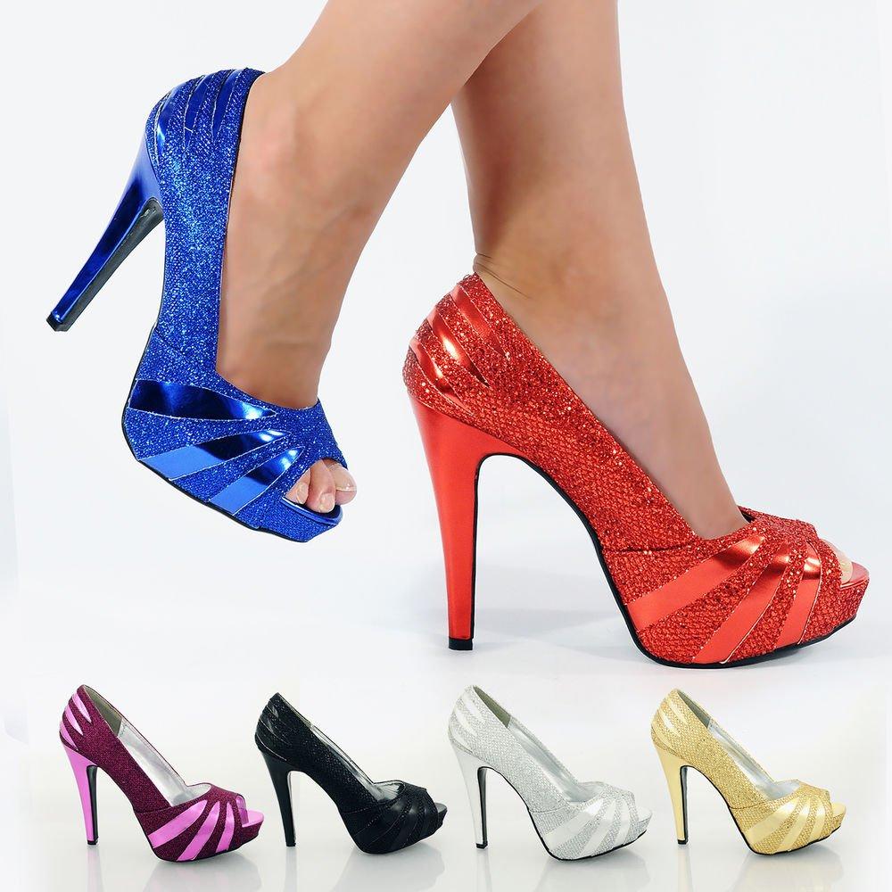 sapatos de festa coloridos