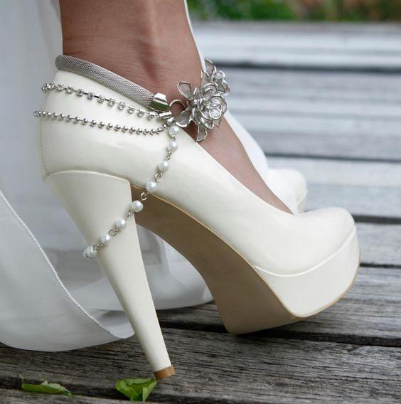 sapatos noiva aplicacoes