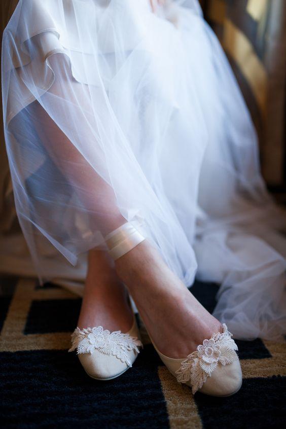sapatos noiva baixos 1