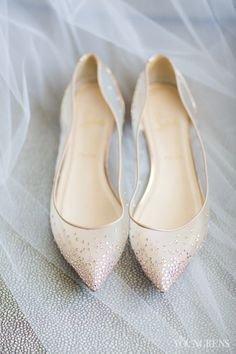 sapatos noiva baixos transparentes
