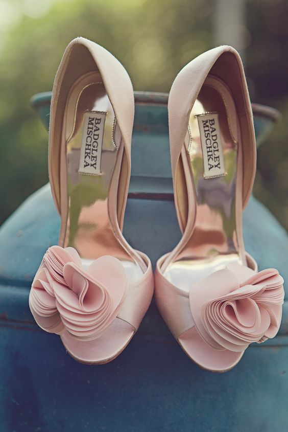 sapatos noiva coloridos rosa