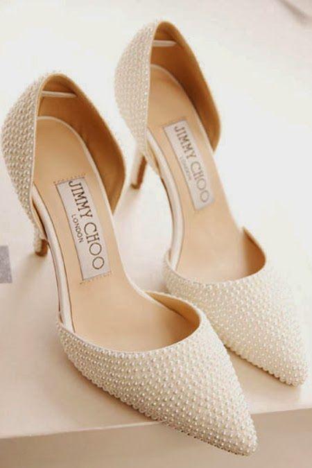 sapatos noiva perolas