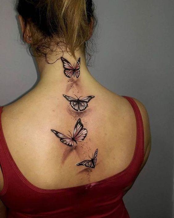 tatuagem feminina 3d