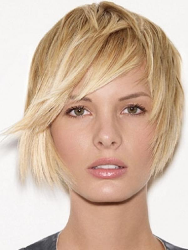 tendencia cabelo curto com franja