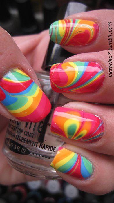 unhas coloridas decoradas 2