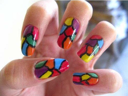 unhas coloridas decoradas 8