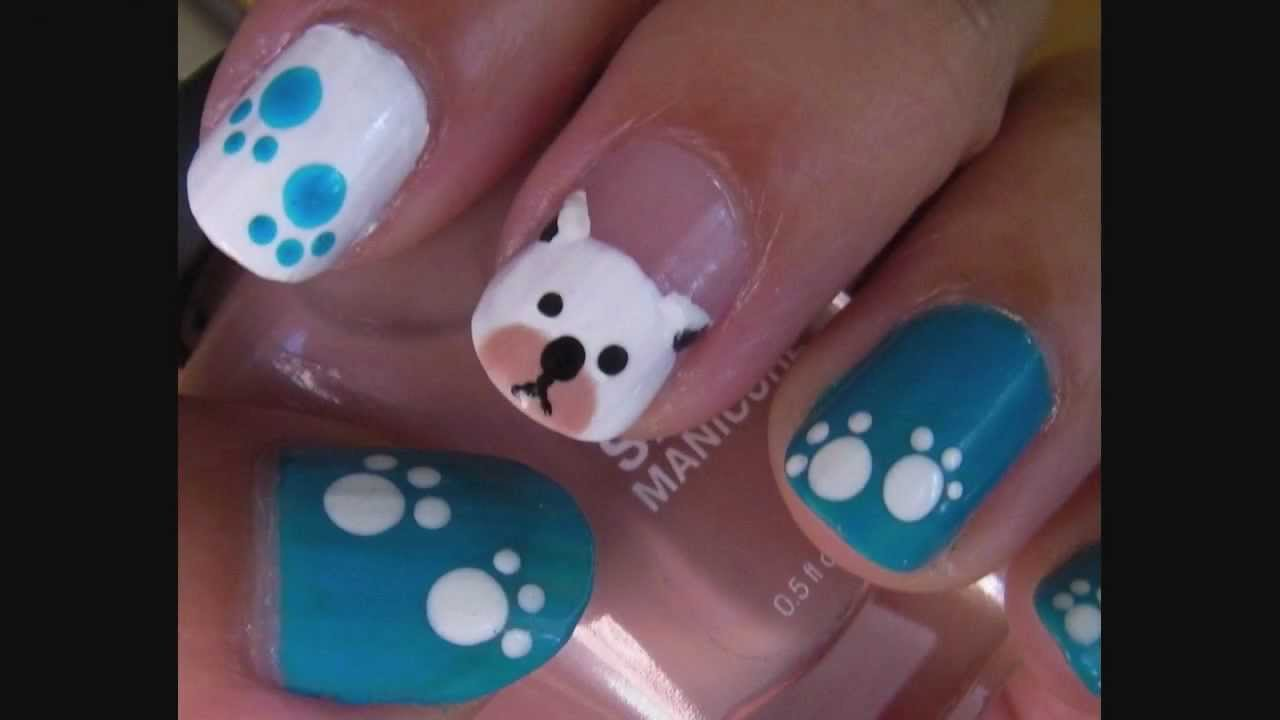 unhas decoradas cachorro