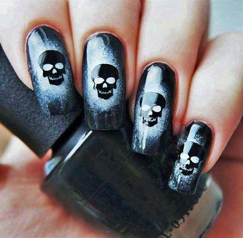 unhas decoradas halloween 14