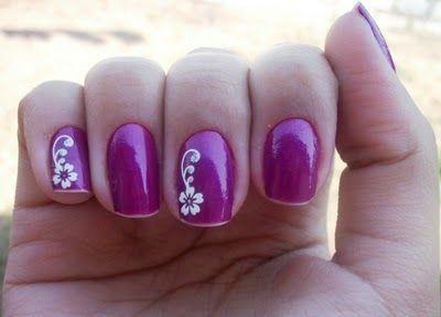 unhas decoradas lilas 6