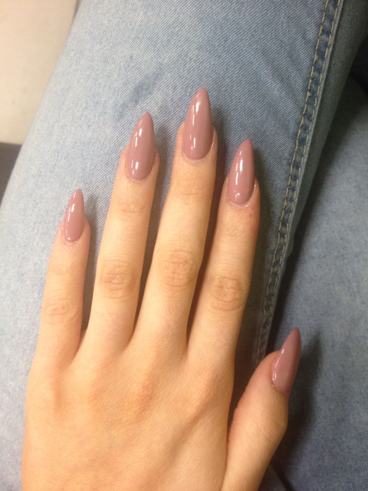 unhas nude mermaid